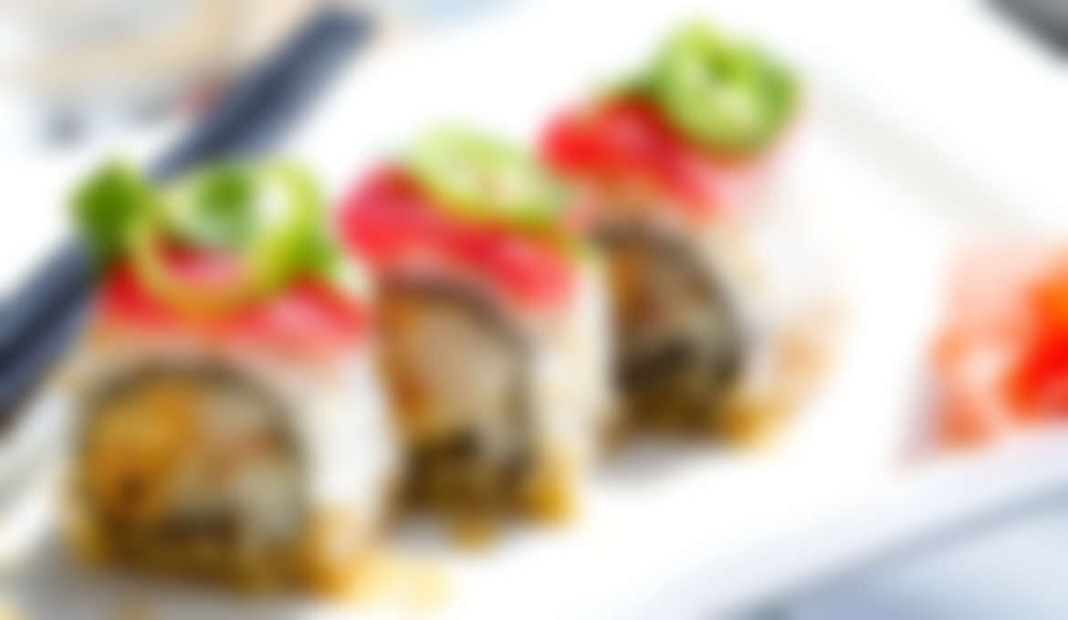 Sushi of salsify